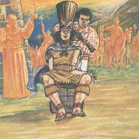 Muerte de Atahualpa