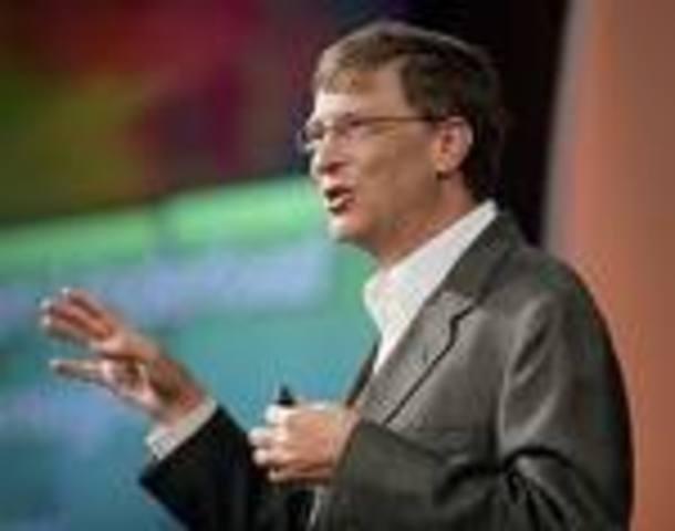 Bill Gates steps down as a microsoft CEO