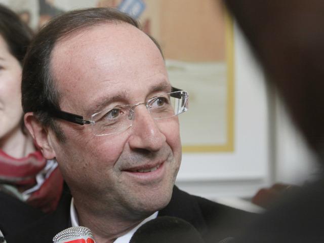 François Hollande candidat