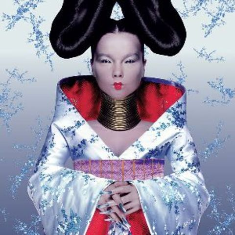 Celebrity Bjork wears his design on her cover album, instantly making him a known name in fashion