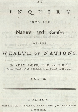 Part 1:Wealth of Nations