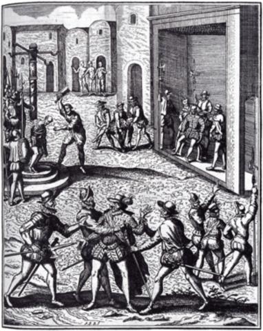 Muerte de Diego de Almagro