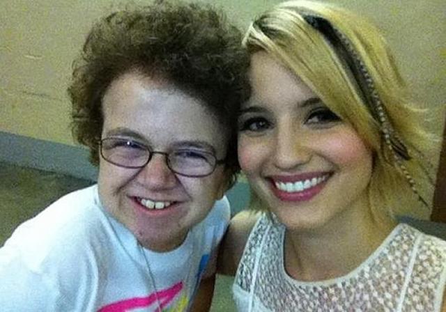 Keenan Cahill's Last Friday Night vid with Glee cast