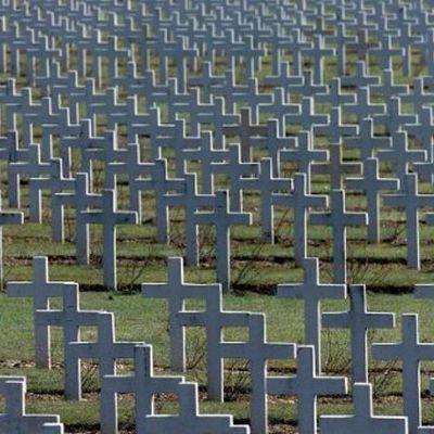 Första världskriget 1914 (Över 20 miljoner civila och militära miste livet under kriget) timeline