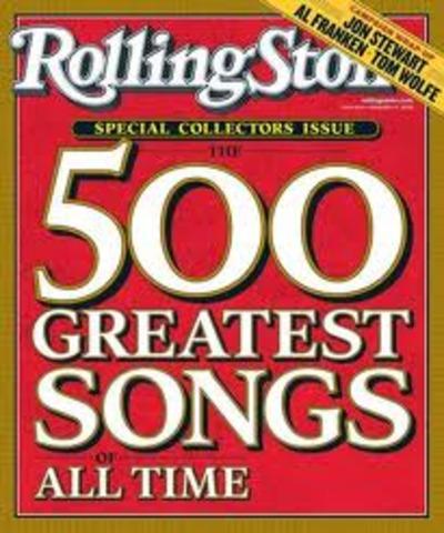 Revista Rolling Stone publica las 500 mejores canciones de la historia.