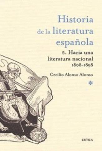 Aparece la revista Critica de Historia y Literatura Española.