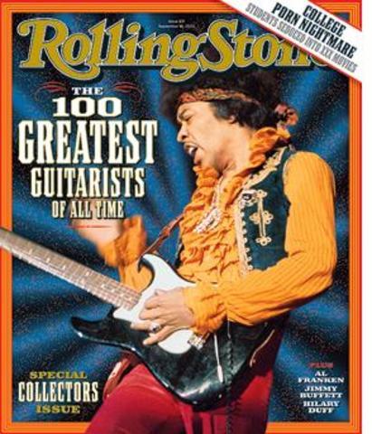La Revista Time publica el articulo sobre el Mejor Guitarrista del mundo