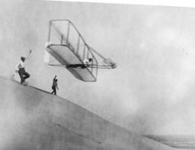 Wright Brothers Fly First Motorized Plane