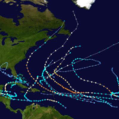 Hurricane Season 2010 timeline