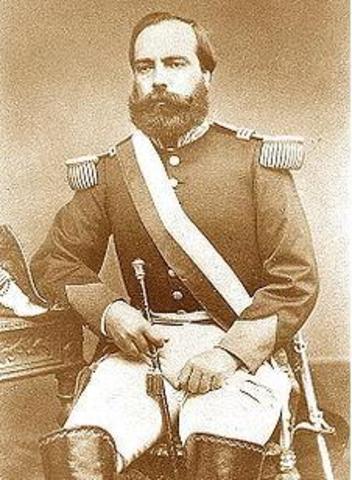 Mariano Ignacio Prado contra Pezet