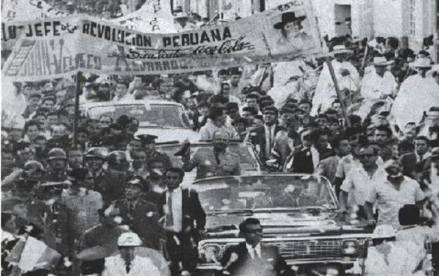 Juan Velasco Alvarado contra Belaúnde Terry