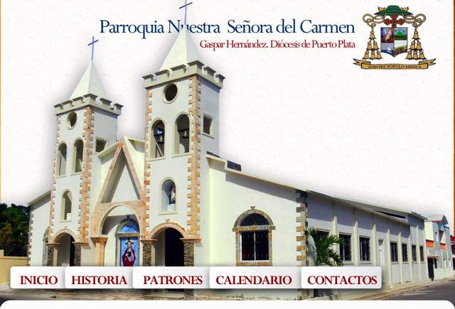 Fiestas patronales de la iglesia Nuestra Sra. Del Carmen.