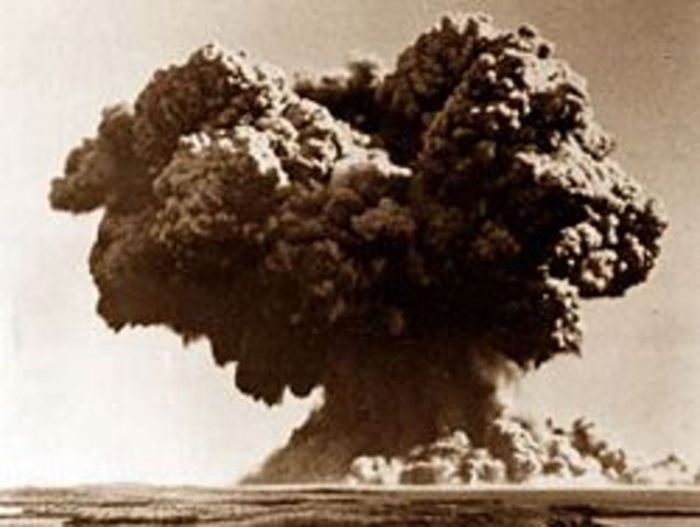 UK First Nuclear Test