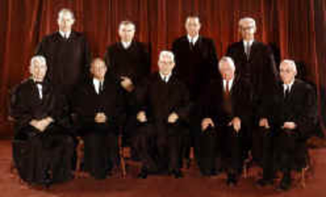 U.S. Supreme Court holds Gideon has a right to counsel