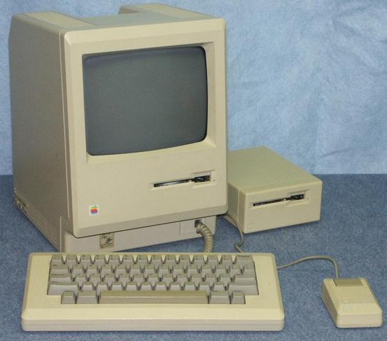 "The first ""user-friendly"" personal computer, the Macintosh128k is released"