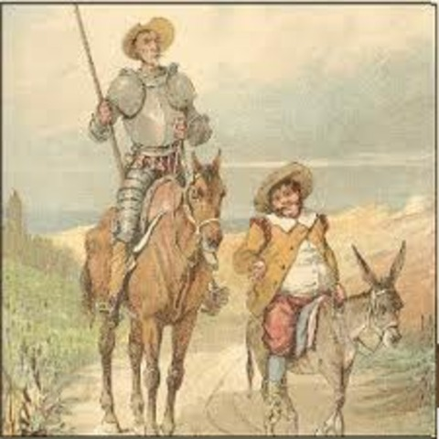 Saquean a Don Quijote y a Sancho Panza