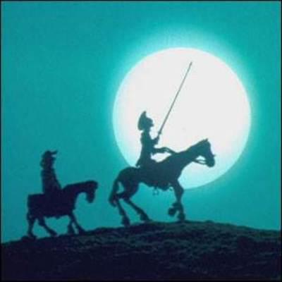 Lines del tiempo de Don Quijote de la Mancha (20 momentos) timeline