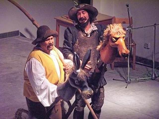 Sancho Panza se convierte en escudero.