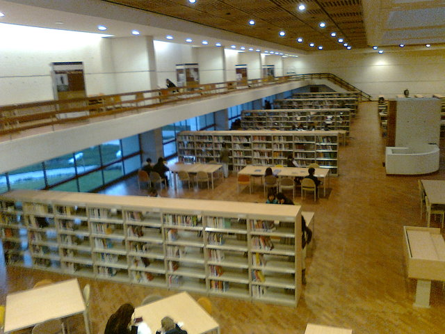 Visita Biblioteca Julio Mario Santodomingo