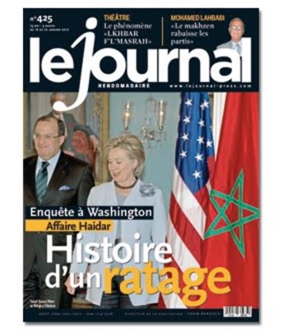 """Publicación de otro periodico diario """"Lejournal"""" en Paris."""