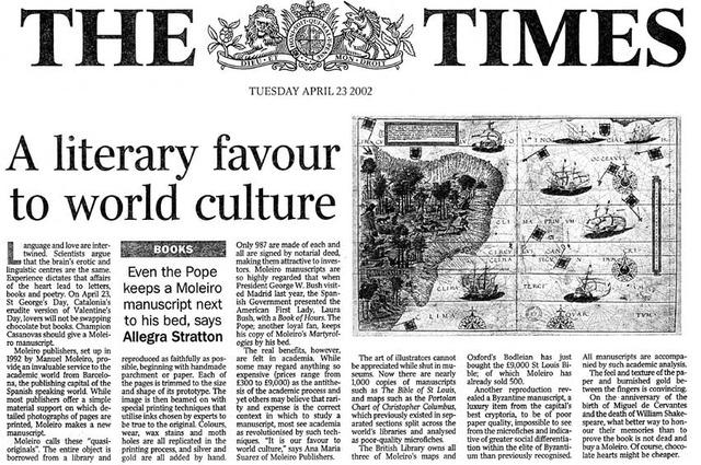 """Publicación de uno de los periódicos que difundia principalmente las ideas de los burgueses """"the times""""."""