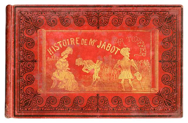 Rodolphe Töpffer publica su álbum de historietas Histoire de M. Jabot.