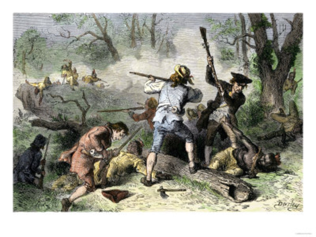 native americans vs colonists Of early interactions between native americans and colonists  neither group  desired military conflict, as fighting would distract from other.
