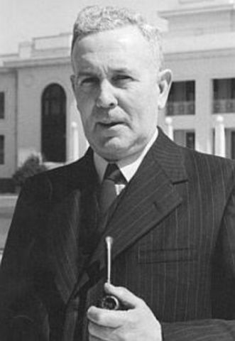 Ben Chifley becomes the 16th PM of Australia