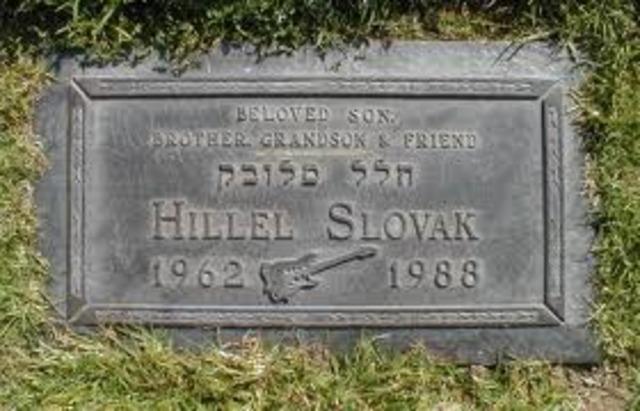 Death of Hillel Slovak