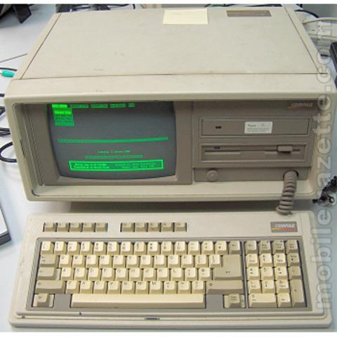 Aparece la PC compatible Compaq portable II