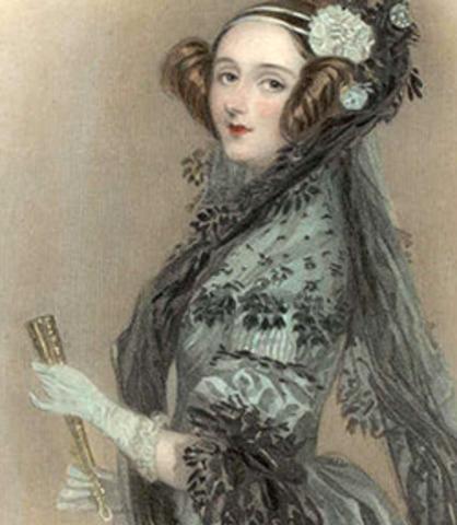 primera programadora (Lady Ada Augusta Lovelace)