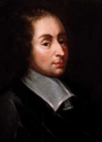 Matemático francés Blaise Pascal
