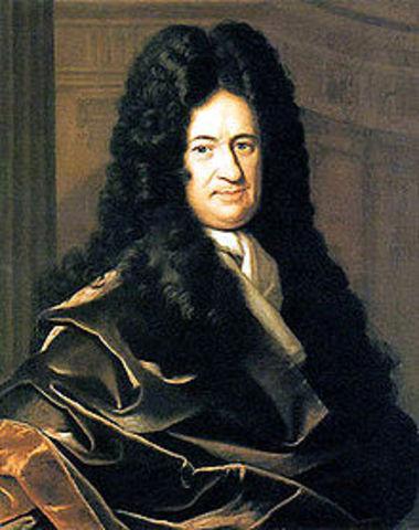Filósofo y matemático Alemán Gottfried Wilhelm Leibniz