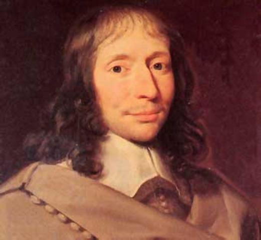 Blaise Pascal (1623- 1622)