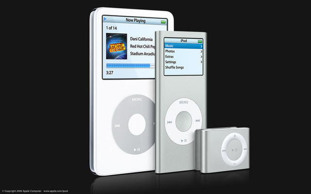 First iPod unveiled