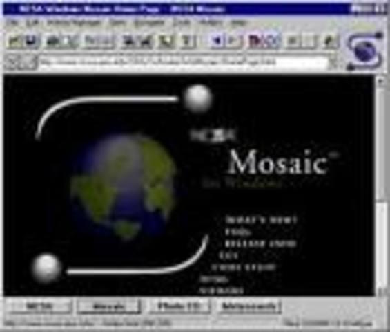 El navegador Mosaic