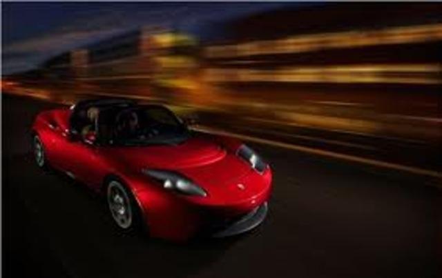 Tesla Roadster Electric