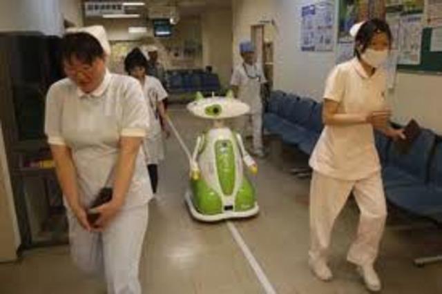 Robots enfermeras