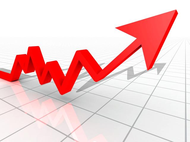 Rise in stocks