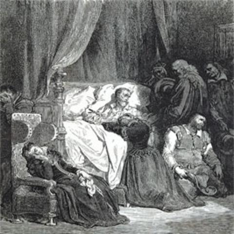Muerte de Don Quijote