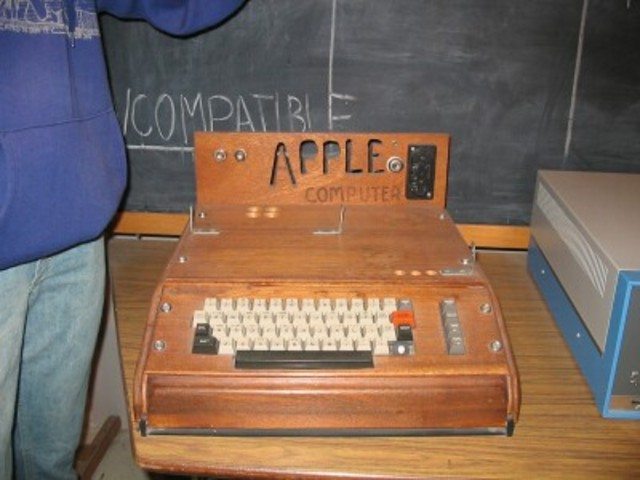 The founding of Apple