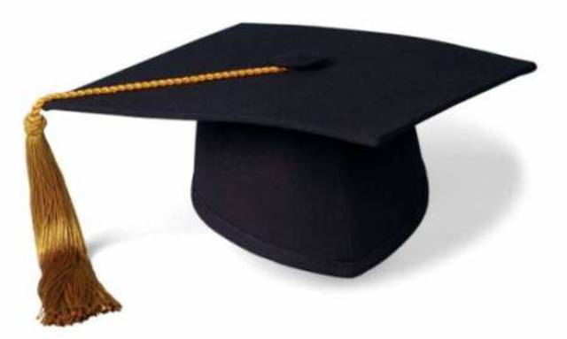 his graduation of school