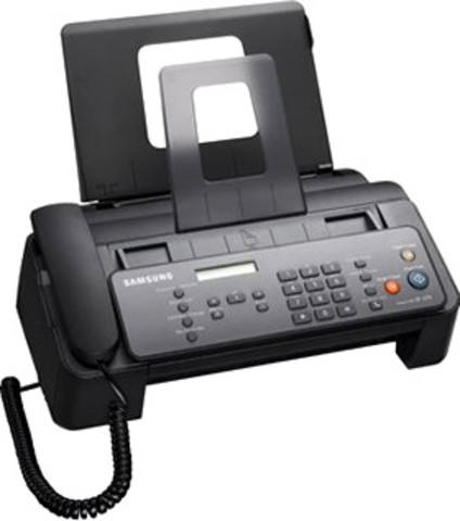 Compramos un fax