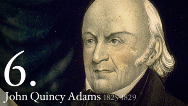 John Quincy Adams begins his work as Minister to the Netherlands