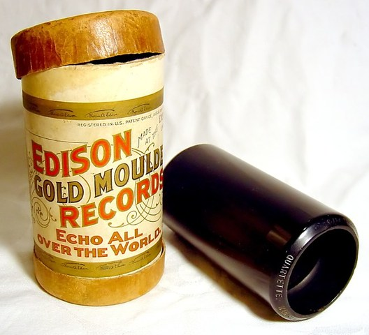 Edison Invents the Cylinder Phonograph
