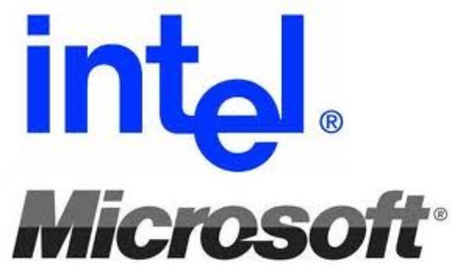 Intel YMicrosoft Dominan el Mundo de la Computación