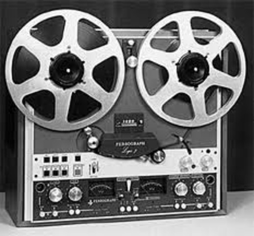 magnetic tape recorder