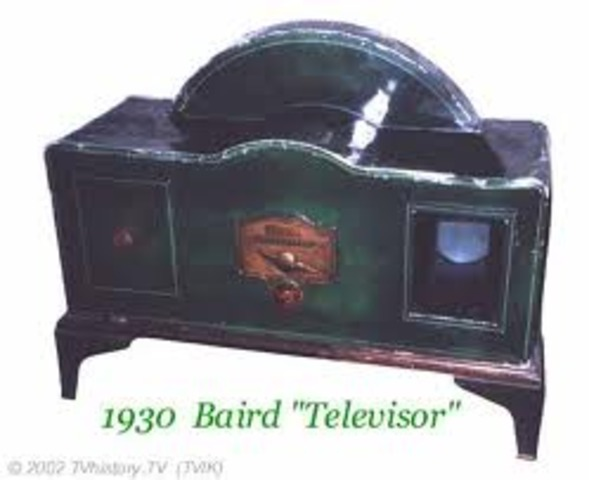 John Logie Baird invents mechanical television