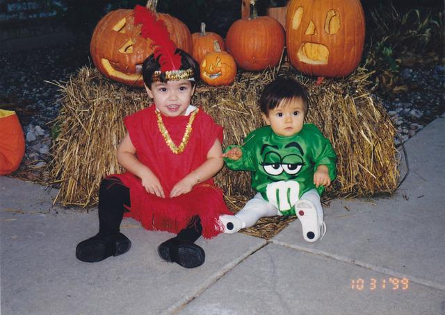 My first Halloween!