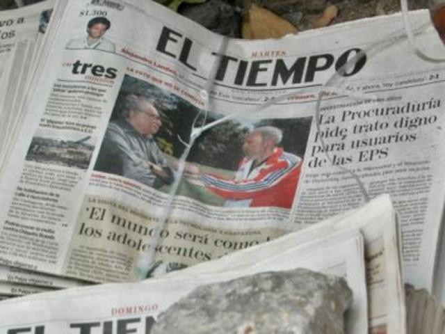 """fundacion de """" EL TIEMPO"""""""